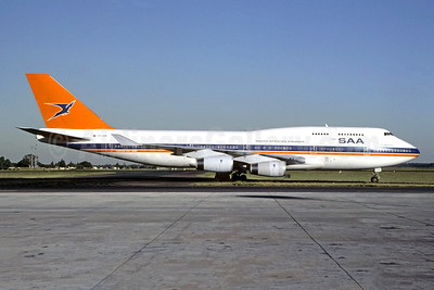 South African Airways-SAA Boeing 747-444 ZS-SAW (msn 25152) JNB (Christian Volpati). Image: 950458.