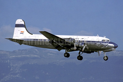 South African Airways (Historic Flight) Douglas DC-4-1009 ZS-BMH (msn 43157) GVA (Jacques Guillem Collection). Image: 949533.