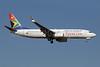 South African Airways Boeing 737-8S3 WL ZS-SJA (msn 29248) JNB (Paul Denton). Image: 910185.