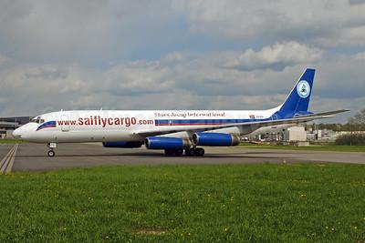 Stars Away International Airlines McDonnell Douglas DC-8-62 (F) ZS-OSI (msn 46098) (African International colors) ZRH (Rolf Wallner). Image: 952027.