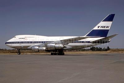 Trek Airways - Luxavia Star Boeing 747SP-44 ZS-SPB (msn 21133) (Bruce Drum Collection). Image: 947194.