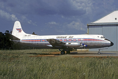 United Air Services (South Africa) Vickers Viscount 761D ZS-JVY (msn 189) JNB (Christian Volpati Collection). Image: 951573.