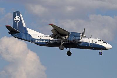Vulkan Air (South Africa) Antonov An-26B EW-278TG (msn 37313306) (Genex colors) JNB (Paul Denton). Image: 920862.