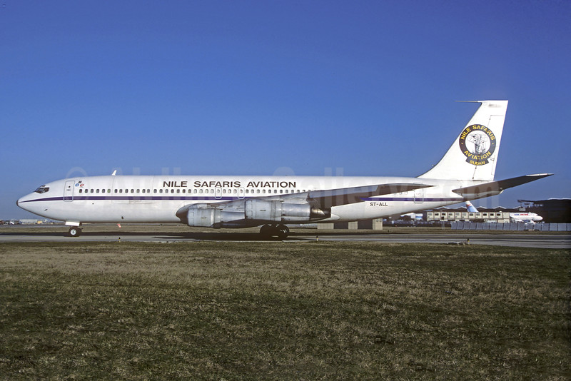 Nile Safaris Aviation Boeing 707-338C ST-ALL (msn 19622) ORY (Christian Volpati). Image: 930649.
