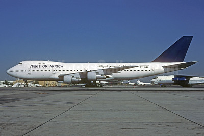 Spirit of Africa Airlines Boeing 747-246B ST-AQL (msn 20504) SHJ (Christian Volpati Collection). Image: 944141.