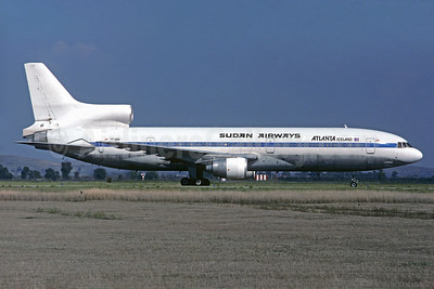 Sudan Airways - Atlanta Iceland (Air Atlanta Icelandic) Lockheed L-1011-385-1 TriStar 1 TF-ABG (msn 1005 (Pan Am colors) MXP (Christian Volpati Collection). Image: 935720.