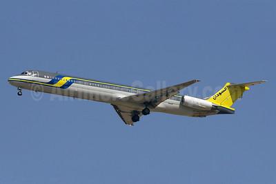 Sudan Airways (Air Memphis) McDonnell Douglas DC-9-83 (MD-83) SU-BME (msn 49628) DXB (Konstantin von Wedelstaedt). Image: 901730.