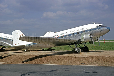 Sudan Airways Douglas C-47B-DK (DC-3) ST-AAK (msn 33346) KRT (Jacques Guillem Collection). Image: 935718.