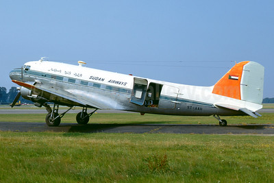 Sudan Airways Douglas C-47B-DK (DC-3) ST-AAH (msn 27099) KRT (Jacques Guillem Collection). Image: 935717.