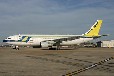 Sudan Airways Airbus A300B4-622R ST-ATA (msn 775) LHR (SPA). Image: 935716.