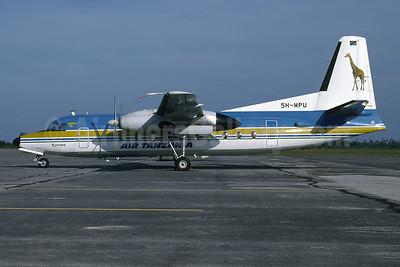 Air Tanzania (1st) Fokker F.27 Mk. 600RF 5H-MPU (msn 10569) DAR (Richard Vandervord). Image: 902516.