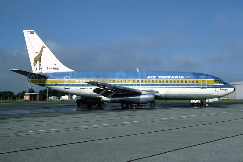 Air Tanzania (1st) Boeing 737-2R8C 5H-MRK (msn 21711) LTN (Richard Vandervord). Image: 930278.