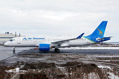 """""""Dodoma"""", Air Tanzania's first Airbus A220-300"""