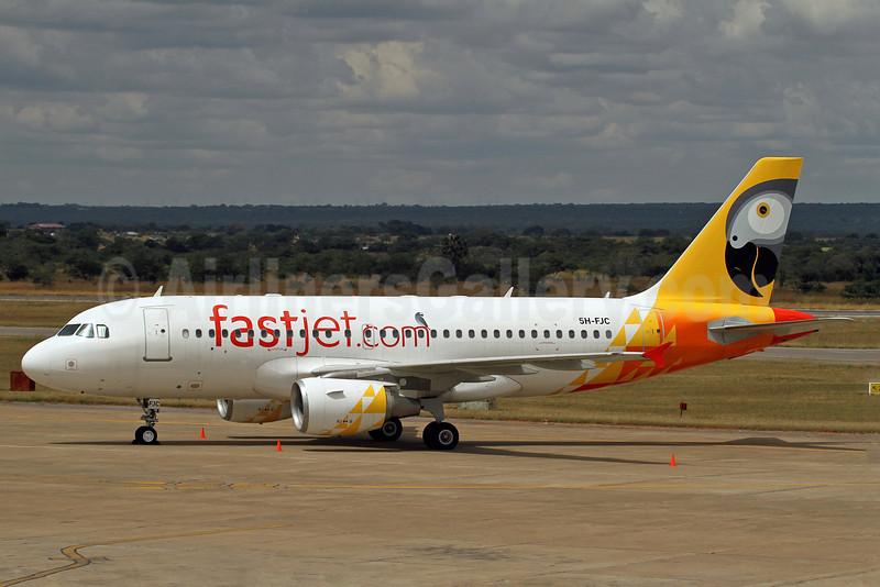 Fastjet.com Airbus A319-112 5H-FJC (msn 1145) LUN (Duncan Kirk). Image: 911872.