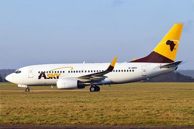ASky Airlines (Togo) (Ethiopian Airlines) Boeing 737-790 WL M-ABDH (ET-AOK) (msn 33012) SEN (Keith Burton). Image: 905910.