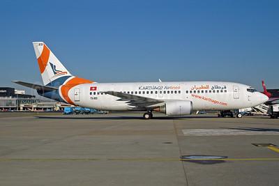 Karthago Airlines Boeing 737-33A TS-IED (msn 25032) AMS (Ton Jochems). Image: 953080.