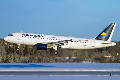 Nouvelair Airbus A320-214 TS-INA (msn 1121) ARN (Stefan Sjogren). Image: 905890.