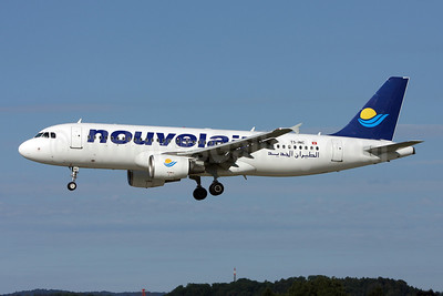 Nouvelair Airbus A320-214 TS-INC (msn 1744) ZRH (Andi Hiltl). Image: 908850.