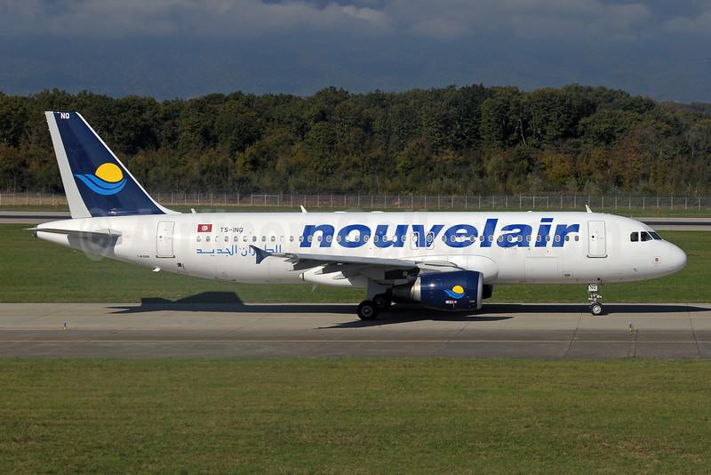 Nouvelair Airbus A320-214 TS-INQ (msn 2158) GVA (Paul Denton). Image: 925072.