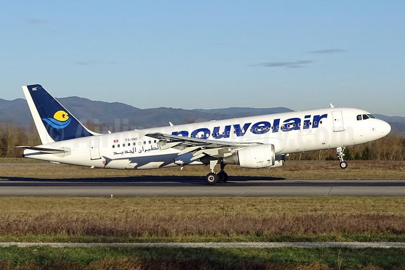 Nouvelair Airbus A320-214 TS-INC (msn 1744) BSL (Paul Bannwarth). Image: 928579.