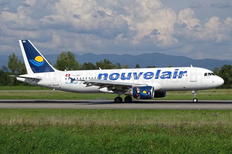 Nouvelair Airbus A320-214 TS-INH (msn 4623) BSL (Paul Bannwarth). Image: 925071.
