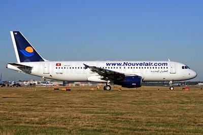 Nouvelair (www.Nouvelair.com) Airbus A320-211 TS-INK (msn 112) LGW (SPA). Image: 940892.