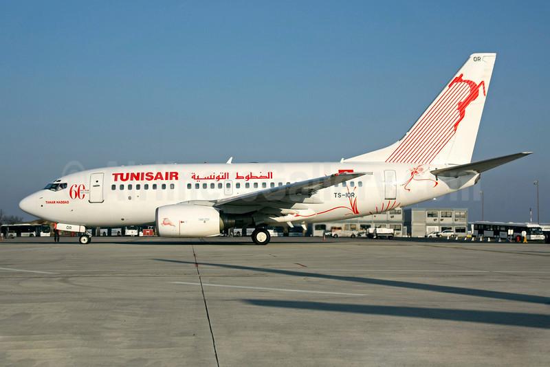 Tunisair Boeing 737-6H3 TS-IOR (msn 29502) (60 Years) CDG (Christian Volpati). Image: 901760.