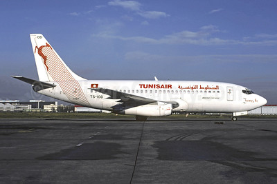 Tunisair Boeing 737-2H3 TS-IOD (msn 21974) ORY (Jacques Guillem). Image: 945695.