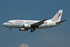 Tunisair Boeing 737-5H3 TS-IOG (msn 26639) (60 Years) FRA (Nik French). Image: 900231.
