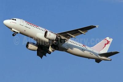 Tunisair Airbus A320-211 TS-IMD (msn 205) BSL (Paul Bannwarth). Image: 920790.
