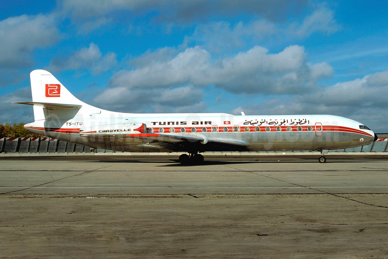 Tunis Air Sud Aviation SE.210 Caravelle 3 TS-ITU (msn 246) ORY (Jacques Guillem). Image: 937217.