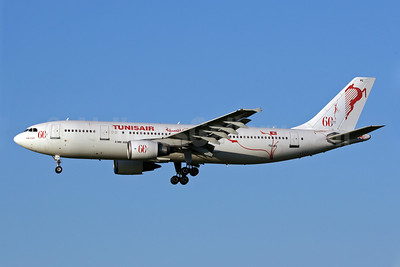 "Tunisair's special ""60 Years"" markings"