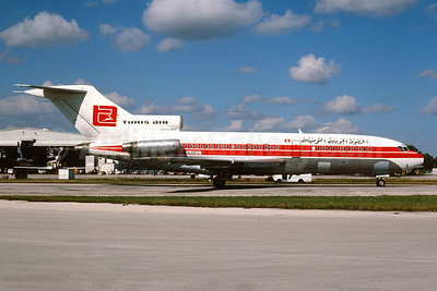 Tunis Air Boeing 727-44 (F) N188CL (TF-VLS) (msn 18893) MIA (Bruce Drum). Image: 104178.