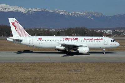 Tunisair Airbus A320-211 TS-IML (msn 958) GVA (Paul Denton). Image: 908315.