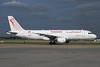 Tunisair Airbus A320-211 TC-IMI (msn 511) LHR. Image: 928518.