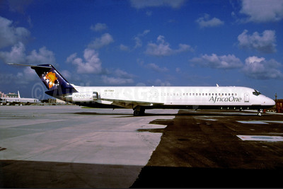 Africa One McDonnell Douglas DC-9-51 5X-TWO (msn 47732) MIA (Bruce Drum). Image: 103563.