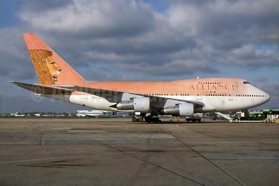 Alliance Air (Uganda) (South African Airways) Boeing 747SP-44 ZS-SPA (msn 21132) LHR (SPA). Image: 929369.
