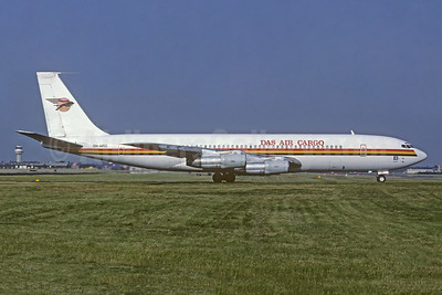 DAS Air Cargo Boeing 707-338C 5N-ARQ (msn 18809) LGW (Christian Volpati Collection). Image: 951960.