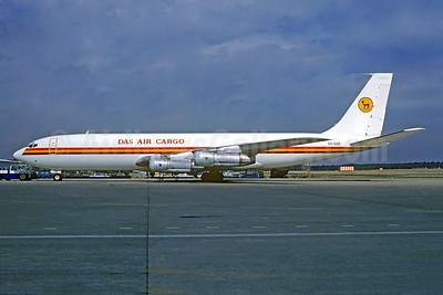 DAS Air Cargo Boeing 707-321C 5X-GAR (msn 18825) CGN (Christian Volpati Collection). Image: 951959.