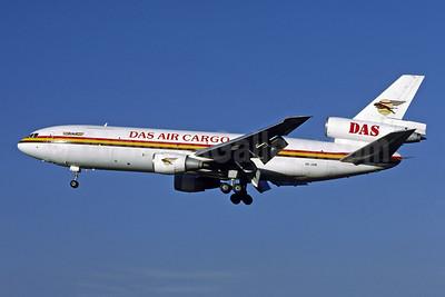 DAS Air Cargo - ANA Aviation Services McDonnell Douglas DC-10-30 (F) 5X-JOE (msn 47906) LGW (Richard Vandervord). Image: 902551.
