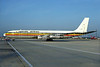 Uganda Airlines Boeing 707-338C 5X-UBC (msn 19630) LGW (Richard Vandervord). Image: 902587.