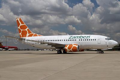 Zambezi Airlines Boeing 737-5Y0 9J-ZJA (msn 26101) JNB (Rainer Bexten). Image: 906261.