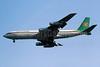Zambia Airways Boeing 707-338C 9J-AEL (msn 19295) LHR (Richard Vandervord). Image: 901807.