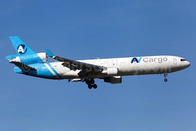 AV Cargo Airlines McDonnell Douglas MD-11F Z-BPL (msn 48756) MUC (Arnd Wolf). Image: 924740.