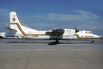 Air Zimbabwe Xian (AVIC) MA60 Z-WPL (msn 0304) JNB (Jacques Guillem Collection). Image: 935092.