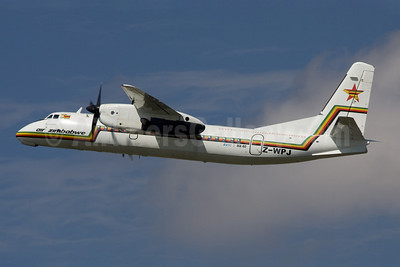 Air Zimbabwe Xian (AVIC) MA60 Z-WPJ (msn 0302) JNB (Rainer Bexten). Image: 903242.