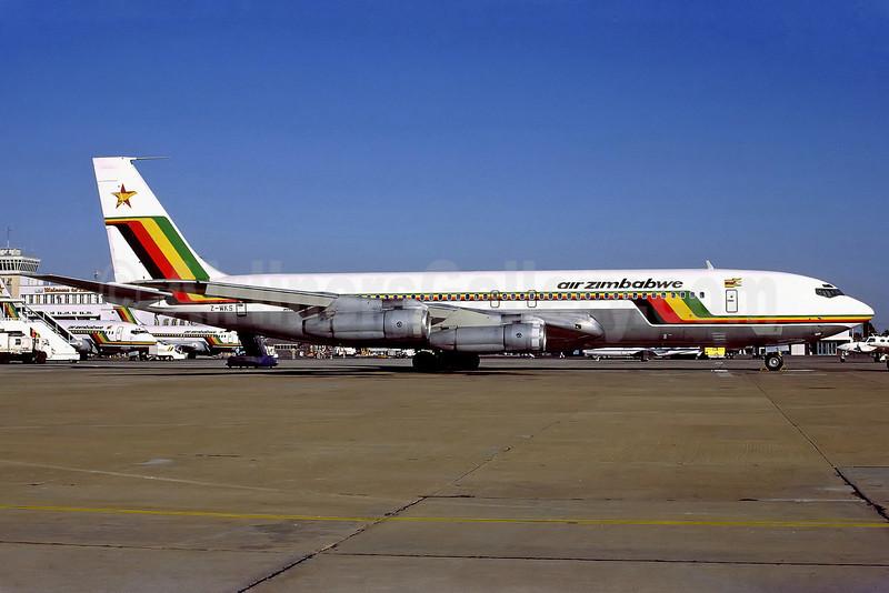 Air Zimbabwe Boeing 707-330B Z-WKS (msn 18923) HRE (Perry Hoppe). Image: 911580.