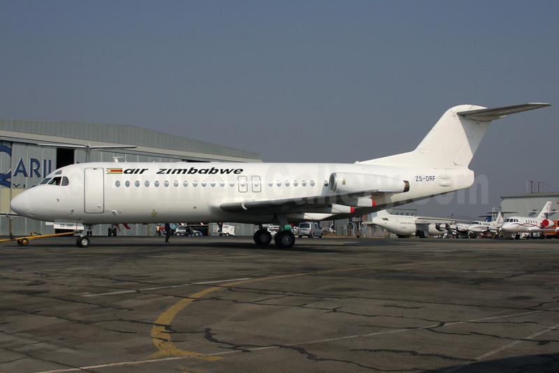 Air Zimbabwe (Branson Air) Fokker F.28 Mk. 4000 ZS-DRF (msn 11239) HLA (Antony J. Best). Image: 905518.