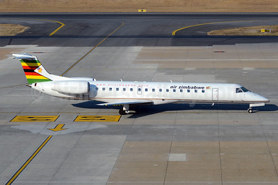 Air Zimbabwe (Solenta Aviation) Embraer ERJ 145LR ZS-BBH (msn 145607) JNB (TMK Photography). Image: 913097.