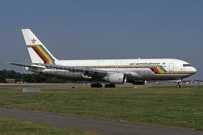 Air Zimbabwe Boeing 767-2N0 ER Z-WPF (msn 24867) LGW (SPA). Image: 931814.